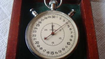 Balance staffs for Slava Vintage USSR Russian Soviet Split stopwatch 20 jewels